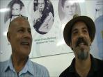 Isaias Ferreira e Juliano Barbosa ex-alunos do Noel Devos