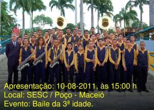 Banda Maestro Bráulio Pimentel, regência Maestro Paranhos
