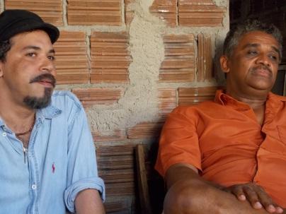 Maestro Juliano e seu tio paterno Mestre Lula Barbosa
