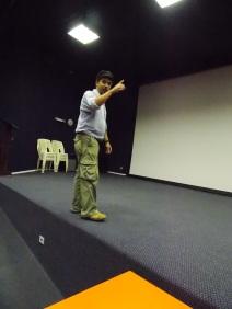 Maestro Juliano, palco do teatro (Bom Jardim)
