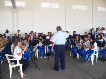 Banda de Música da EESD da Base Aérea de Parnamirim-RN - Maestro Normando Carneiro