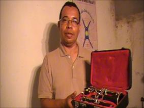 Maestro Minuto (clarinetista, Capa Bode, Nazaré/PE)