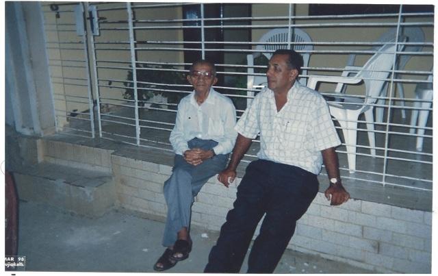 PROF. JOSÉ DA JUSTA E Maestro MANOEL CARVALHO