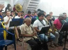 Gremio Henrique Dias e a Luther College Jazz Orchestra