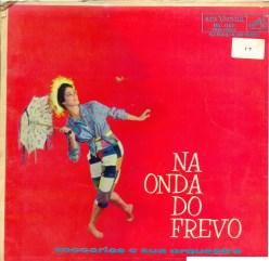 Zaccarias e sua Orquestra - Na Onda do Frevo (Frente)
