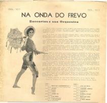 Zaccarias e sua Orquestra - Na Onda do Frevo (Verso)