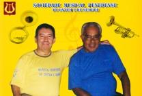 Wilson e o maestro José Ramos de Pão de Açúcar - AL