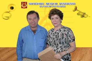 Wilson e a colaboradora Judith Goes