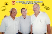 maestro Nelson Silva, Wilson e o maestro Welington Mota