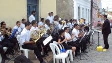 Banda Sinf. do CEMO – regência Nilson Lopes 12