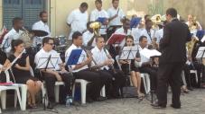 Banda Sinf. do CEMO – regência Nilson Lopes 9