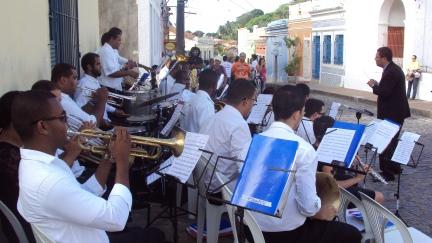 Banda Sinf. do CEMO - regência Nilson Lopes
