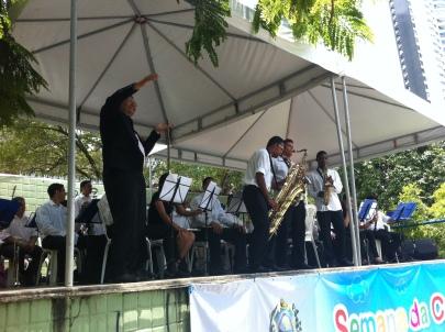 Banda Sinf. do CEMO – regência Nilson Lopes 1