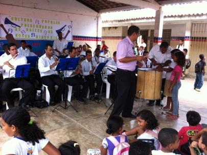 Banda Sinf. do CEMO – regência Nilson Lopes 5
